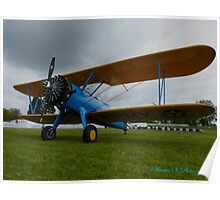 Stearman A King of Aviation Poster