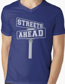Coined and Minted Mens V-Neck T-Shirt