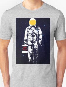 Badass Astronaut - Yellow Visor T-Shirt