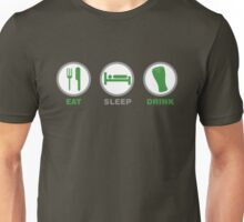 Eat Sleep Drink St Patricks Day Unisex T-Shirt