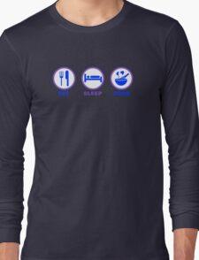 Eat Sleep Cook Long Sleeve T-Shirt