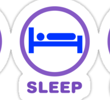 Eat Sleep Cook Sticker
