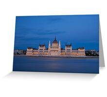 Hungarian Parliament Greeting Card
