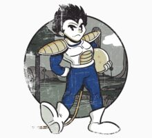 1920s Saiyan Prince in Color Kids Clothes