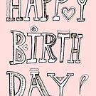 Happy Birthday by nefos