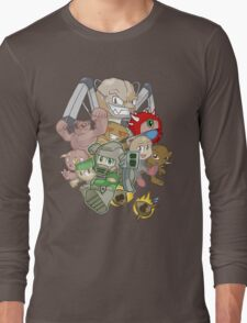 Doom Powered Up! Long Sleeve T-Shirt