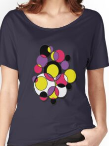 Circles of colour! Women's Relaxed Fit T-Shirt