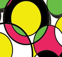 Circles of colour! Sticker