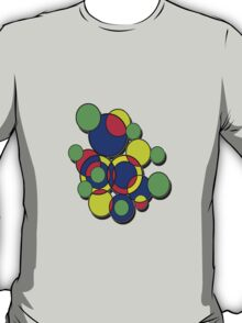 Circles of colour! Without the 'male' symbol. T-Shirt
