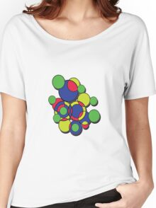 Circles of colour! Without the 'male' symbol. Women's Relaxed Fit T-Shirt