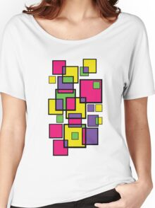 An abstract of squares! Women's Relaxed Fit T-Shirt