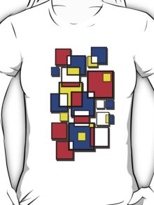 An abstract of squares - shadow T-Shirt