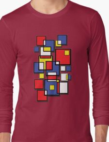 An abstract of squares - shadow Long Sleeve T-Shirt