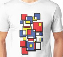 An abstract of squares - shadow Unisex T-Shirt