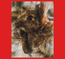 Designs Inspired By Nature: Wild Baby Rabbit Kids Tee