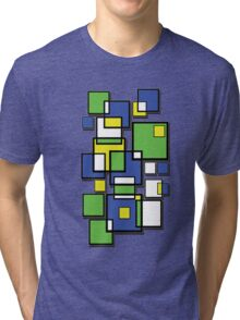 Abstract squares! Tri-blend T-Shirt
