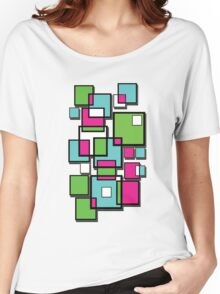 Abstract squares! Women's Relaxed Fit T-Shirt
