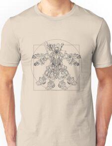 Vitruvian Bounty Hunter Unisex T-Shirt