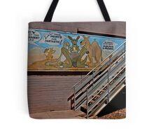 Aussie Critters Stairway Tote Bag