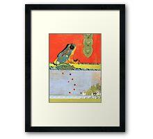 Frog Totem Framed Print