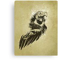 Lappet-faced vulture Canvas Print