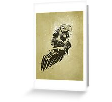 Lappet-faced vulture Greeting Card