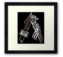 Asgardian Pride (Blood) Framed Print