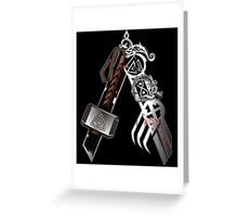 Asgardian Pride (Blood) Greeting Card