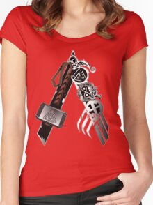 Asgardian Pride (Blood) Women's Fitted Scoop T-Shirt