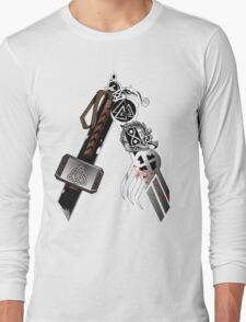 Asgardian Pride (Blood) Long Sleeve T-Shirt