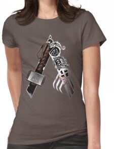 Asgardian Pride (Blood) Womens Fitted T-Shirt