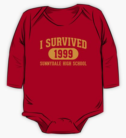 I Survived Sunnydale High One Piece - Long Sleeve
