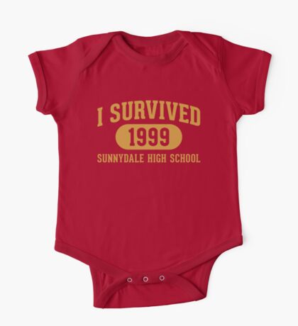 I Survived Sunnydale High One Piece - Short Sleeve