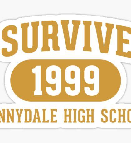 I Survived Sunnydale High Sticker