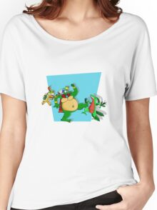 Reptiles for smash shirt Women's Relaxed Fit T-Shirt