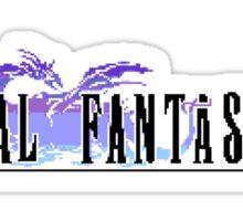 Block Fantasy V Sticker