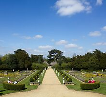 Belton House gardens by Paul Collin