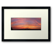 ©HCS May Sunset I Framed Print