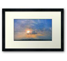 ©HCS Ahura Mazda Framed Print