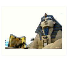 Luxor & THEhotel Art Print