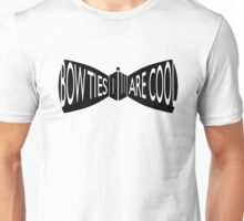 Doctor Who Bow Ties Unisex T-Shirt
