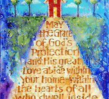 Irish Home Blessing by Eva C. Crawford