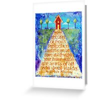 Irish Home Blessing Greeting Card