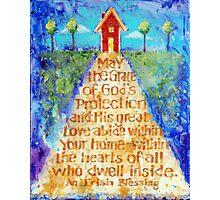 Irish Home Blessing Photographic Print