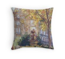 Quai de Valmy, Paris Throw Pillow