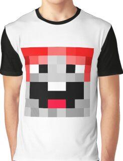 ExplodingTNT Minecraft skin Graphic T-Shirt