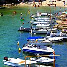 Cala Alcaufar Harbour by Fara