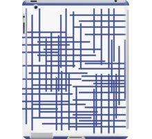 Mondrian's Blue Period  iPad Case/Skin