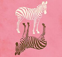 Zebras Pattern by thejoyker1986