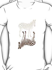 Zebras Pattern T-Shirt